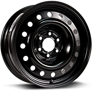 RTX, Steel Rim, New Aftermarket Wheel, 16X6.5, 6X114.3, 71.5, 25, black finish X46444