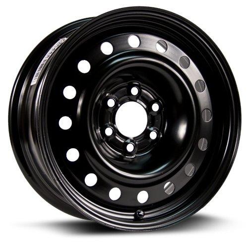 RTX, Steel Rim, New Aftermarket Wheel, 16X6.5, 6X114.3, 71.5, 25, black finish X46444