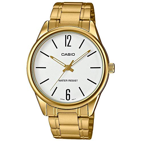 Casio Men's MTPV005G-7B Gold Stainless-Steel Japanese Quartz Fashion Watch