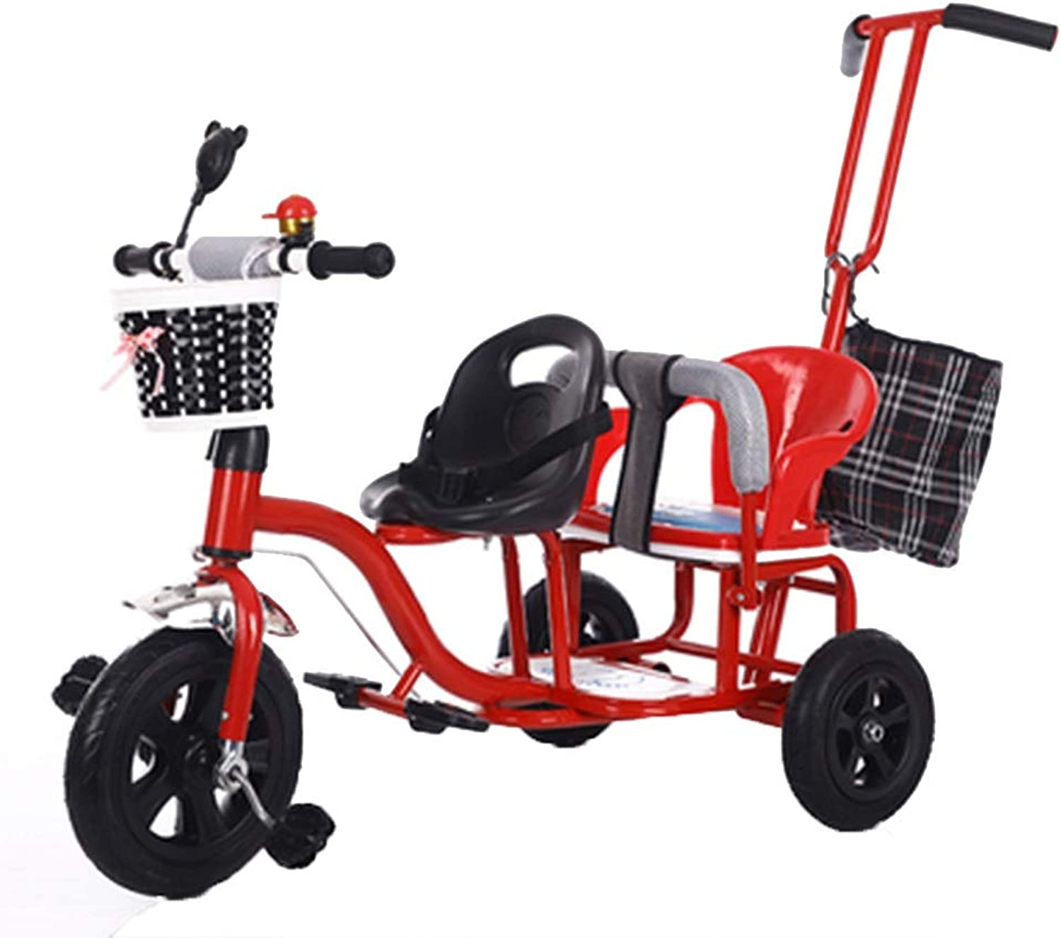 YUMEIGE Trikes Kids Tricycle Tricycle Tricycle Double Seat