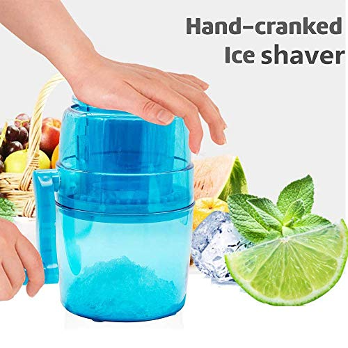 XBR Ice MakerHand Crank Ice Crusher Ice Chopper Crush Ice Chop Ice Chip Eismaschine Ice Chinder Ice Chopper Mini Kleine Eismaschine für Kinder Eiswürfelformen