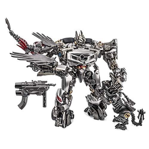 CZWNB Transformers Toys, Trasformazione Giocattolo XM01 Soundwave Laserbeak Action Figure Robot Toys,Regalo di Compleanno