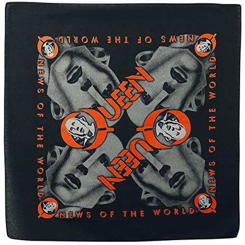 Queen News of the world - Bandana Tuch Mehrfarbig