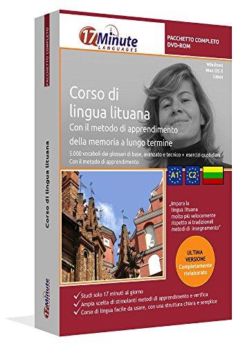 Imparare il lituano (A1-C2): Pacchetto completo della lingua lituana. Software per Windows e Linux. Corso base + corso avanzato + glossario tecnico di lituano uniti in un unico corso