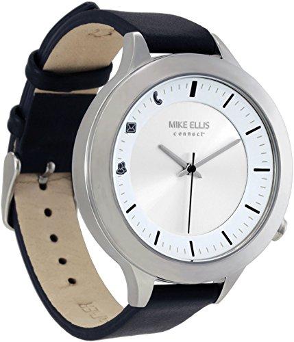 Mike Ellis Connect L4831F MEC Uhr Liz Edelstahl, Leder Silber/schwarz