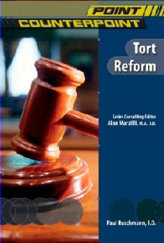 Tort Reform (Point/Counterpoint (Chelsea Hardcover)) (English Edition)