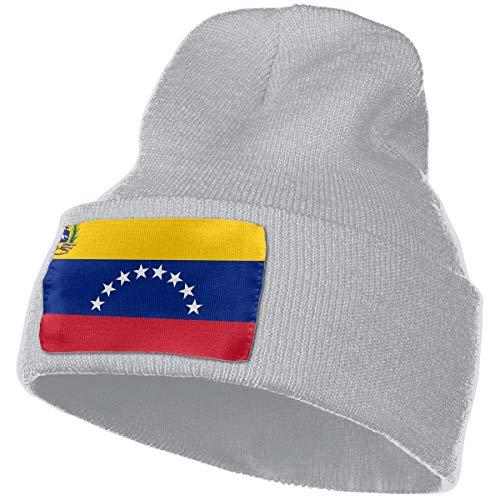 Tedtte Gorro Unisex con Bandera de Venezuela, Gorro de Punto, Gorro de Calavera