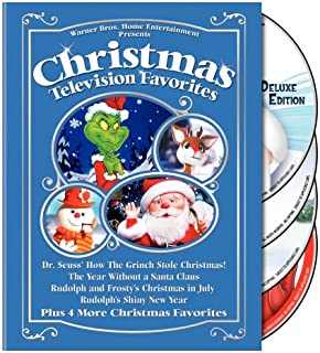 Christmas Television Favorites: (Dr. Seuss' How the Grinch Stole Christmas! / The Year Without a Santa Claus / Rudolph and Frosty's Christmas in July / Rudolph's Shiny New Year / and More)