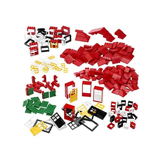 LEGO Education ramen deuren en dakstenen, 278 stuks