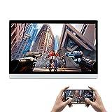 XTRONS android ヘッドレストモニター 12.5インチ 大画面 HDMI入力 フルHD高画質 車載モニター タッチパネル付 超薄型 リアモニター 2kビデオ再生対応 外部入力 スピーカー内蔵 USB SD レジューム機能 (HM125A)