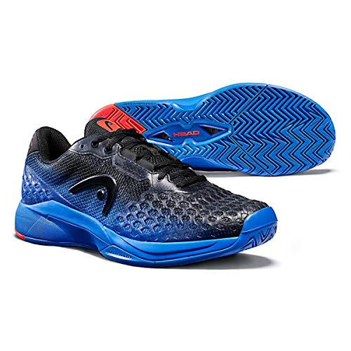 Head Revolt Pro 3.0, Zapatillas de Tenis Hombre, Anthracite/Royal Blue, 44.5 EU