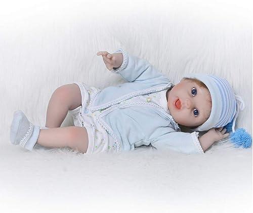 LIDE 22 Zoll 55cm Reborn Babys Puppe L eln mädchen offene Augen Weiße Silikon Vinyl Magnetismus Kinder Spielzeug Geburtstag Geschenke Neugeborenes Baby Doll