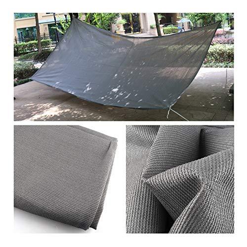 XXHJWXCM Netttage de l'ombre, Tissu d'ombrage de crème Solaire, bâche de Maille de Tissu résistant aux UV pour la Serre de la Plante de Serre ombragée bordée écoulée (Size : 3×10M)