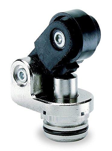 Telemecanique ZCE21 cabezal de interruptor de límite de plástico para cuerpo de la serie Zcm, tipo palanca de rodillo, posición superior, actuación horizontal
