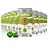 Lavazza Tierra For Planet, 100% Arábica, Cápsulas de Aluminio Compatibles con Nespresso, Impacto Neutro de CO2, 10 Paquetes de 10 Cápsulas