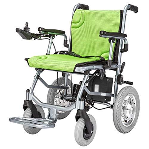 L-Y Elektrisch Einfach für Ältere Menschen Rollstuhlmotor Dual Control Aluminium Alloy Lightweight Folding Senioren Behinderte Einfach für Ältere Menschen Rollstuhl