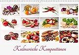 Kulinarische Kompositionen (Wandkalender 2020 DIN A3 quer)