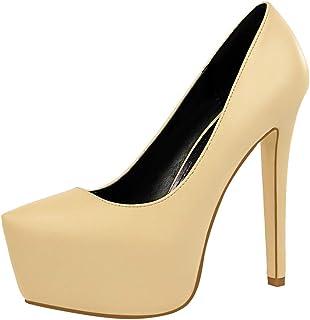 BalaMasa Womens APL12218 Pu Heeled Sandals