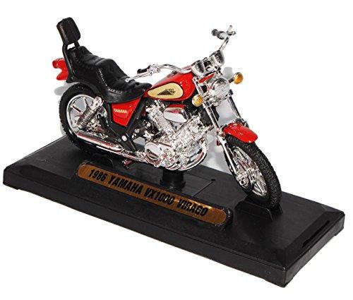 Yamaha Vx1000 Vx 1000 Virago 1986 Rot 1/18 Motormax Motor Max Modellmotorrad Modell Motorrad