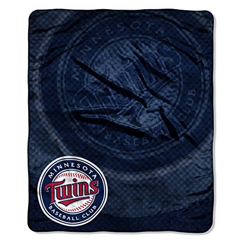 "MLB Minnesota Twins ""Retro"" Raschel Throw Blanket, 50"" x 60"""