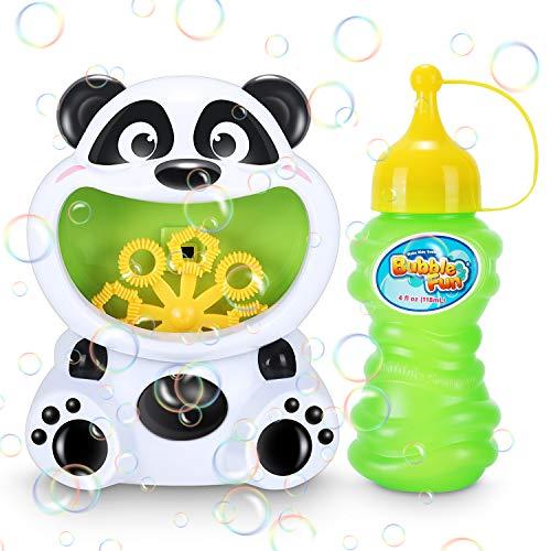 Máquina de Burbujas para Niños, uguete de Baño para Bebés Maquina Pompas Jabon Automática, Soplador de Pompas Jabon Bubble Maker para Niños y Adultos para Fiestas, Cumpleaños, Bodas