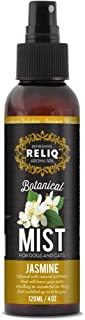RELIQ Aroma SPA Jasmine Botanical Mist Cologne for Dogs and Cats. Spray on The Coat After Bath to give Your Dog a Clean & ...