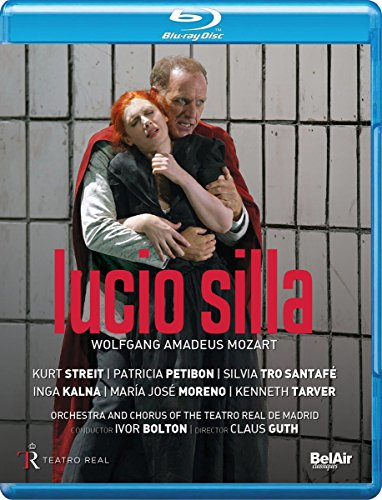 Mozart, W.A.: Lucio Silla [Opera] (Teatro Real, 2017) (Blu-ray, Full-HD) [Blu-ray]