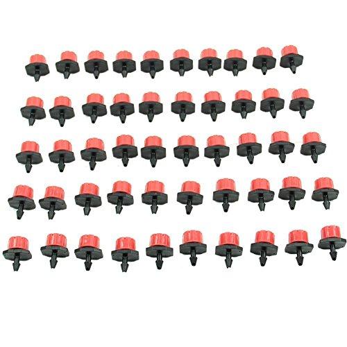 HeroNeo - Cabeza para riego por goteo de 1/4/0,64 cm (50 piezas)