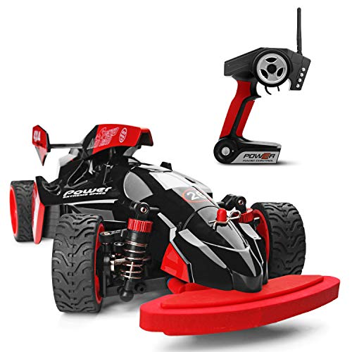 Weaston 1:18 F1 Model Remote Control Car 45KM / H Carreras de Alta Velocidad 2.4G Carga RC Car 4WD Off-Road RC Vehículo Adulto Amateur RC Truck Juguete para niños