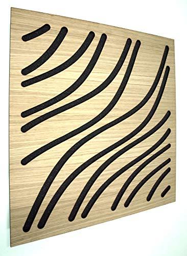 Panel acustico EliAcoustic Marine Luxury Old Wood (4 ud). Panel...