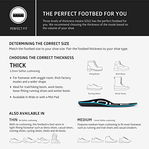 SOLE Active Thick Shoe Insole