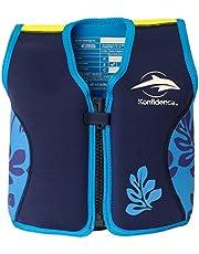 Konfidence Originele Konfidence zwemjas voor kinderen, met blauwe handpalm, maat L/6-7 jaar, uniseks volwassenen