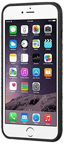 MyBat Cell Phone Case for iPhone 6 Plus/6s Plus - Retail Packaging - Black/Orange