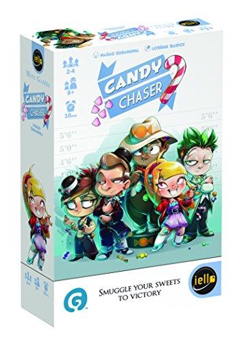 Candy Chaser - Denkspel - Een bluf spel waarbij spelers illegaal snoep moeten smokkelen - Voor de hele Familie - Taal: Engels