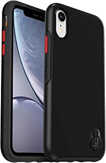 OtterBox Symmetry Series Disney Galactic Collection Case for iPhone XR - Retail Packaging - Darth Vader Emblem (Black/Black/Scarlet/Darth V Head Graphic) (Renewed)
