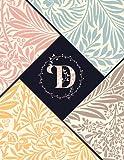 D: Monogram Journal for Man, Woman, Boys, Girls & Kids.