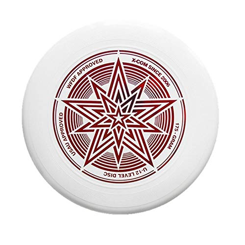 Professional Ultimate Frisbee Love Frisbee Series UFO 175g Training Team Frisbee Outdoor Game Sports-1 red on white