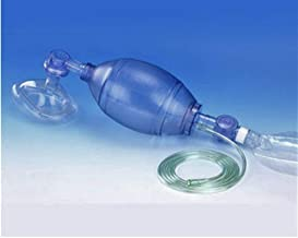 BTIHCEUOT Adult Ambu Bag,Manual Resuscitator PVC Adult Ambu Bag ...