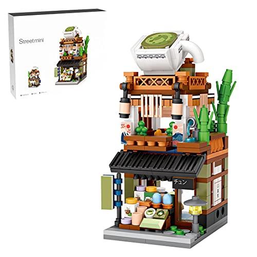 YIGE Architettura, modello da costruzione, 379 pezzi, Matcha Laden, edifici modulari Bautaz, Street View, modellismo compatibile con Lego
