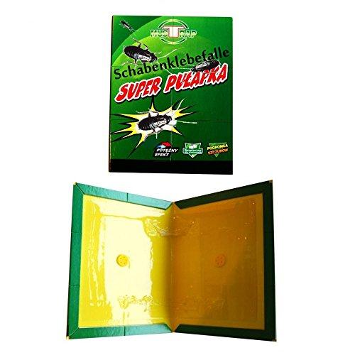 10 x Heimchenfalle Klebfalle im DIN A4 Format inkl. Lockstoff Köder