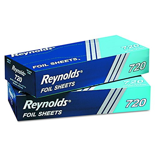 Lowest Prices! Reynolds Wrap 720 Pop-Up Interfolded Aluminum Foil Sheets, 12 x 10 3/4, Silver, 200 P...