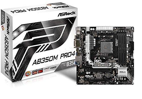 Asrock 90-MXB520-A0UAYZ - Placa Base Ab350m Pro4