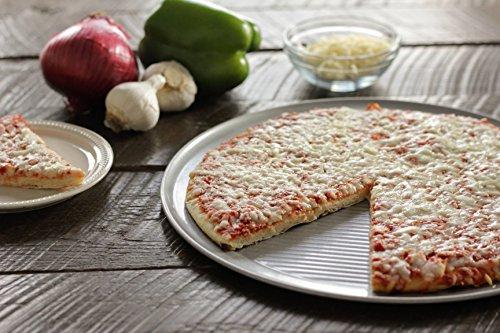 USA Pan Bakeware Aluminized Steel Pizza Pan, 12-Inch