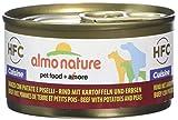 almo nature Dog HFC Cuisine Vacuno, Patata y Guisantes - Paquete de 24 x 95 gr - Total: 2280 gr