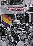 DE LAS URNAS A LA REPUBLICA.LAS ELECCIONES MUNICIPALES 1931