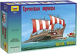 ZVEZDA 8514 - Greek Triera - Plastic Model Kit Scale 1/72