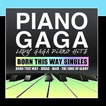Lady Gaga Piano Hits Born This Way Singles