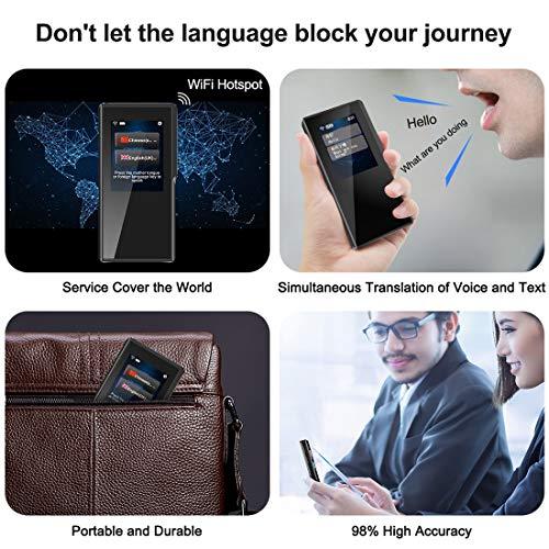 5 Reasons why you need a multi-language portable smart voice translator 6