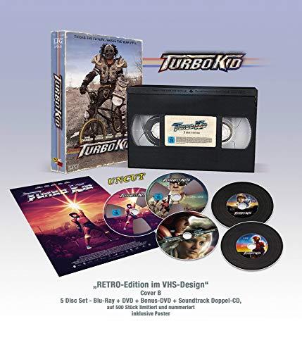 Turbo Kid - VHS RETRO-Edition (Bluray + DVD + Bonus-DVD + Doppel...