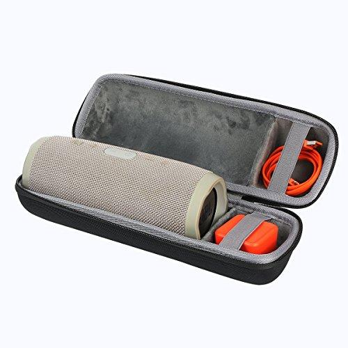 Hart Reise Schutz Hülle Etui Tasche für JBL Charge 3 Tragbarer Bluetooth Lautsprecher von co2CREA (schwarz)